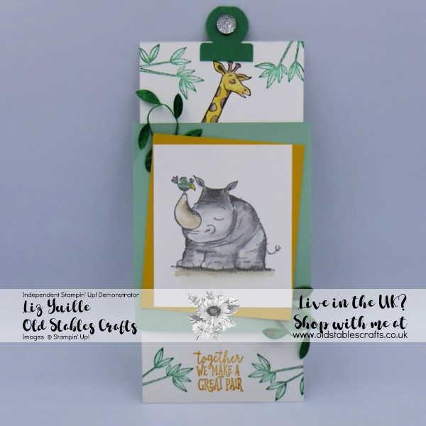 Animal Outings Slider Card