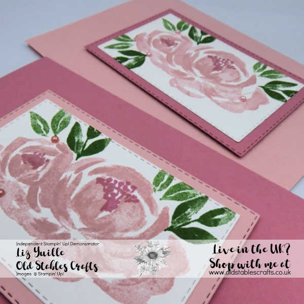Beautiful Friendship Quick and Easy Cards Blushing Bride and Rococo Rose close up
