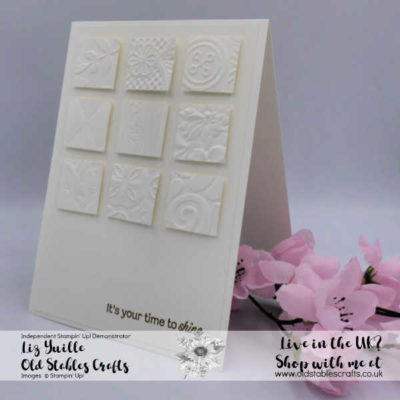 Heat Embossing or Dry Embossing? How About BOTH!