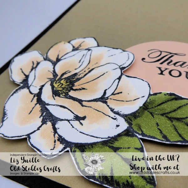 #Simplestamping Saturday Good Morning Magnolia Blooms Casual Project