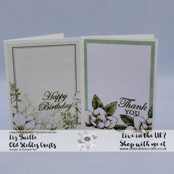 #Simplestamping Saturday Good Morning Magnolia Blooms Simple Projects