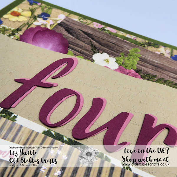 Pressed Petals Scrapbook die cut four