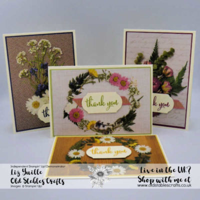 Pressed Petals Cut Apart Note Cards – Quick, Easy, Perfect!