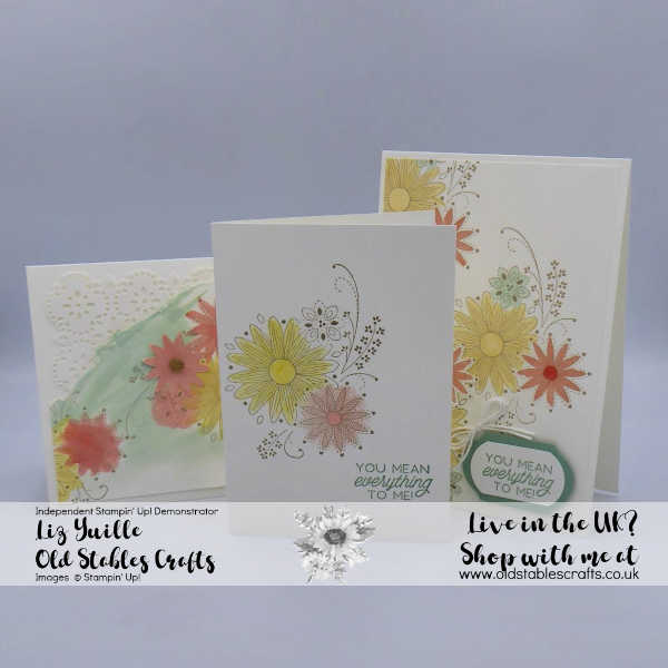 A Little Lace all Cards Calypso Coral, So Saffron, Mint Macaron