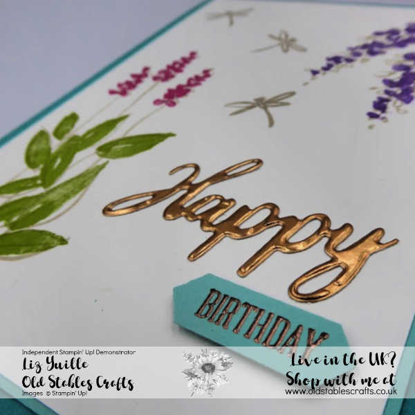 Soft Spring Card Close Up for Top Tip Tuesday