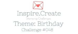 Inspire Create Challenge, Birthday, A Good Man, Pear Pizzazz, Pool Party, Blends, Sequins, Masculine Card