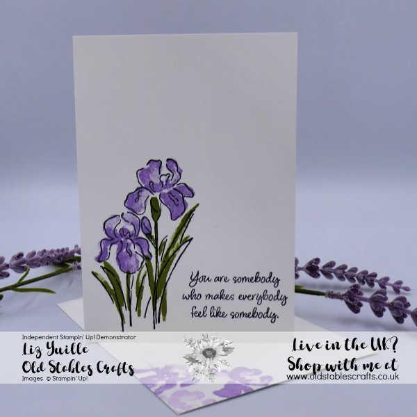 Inspiring Iris #SSS Quick and Simple