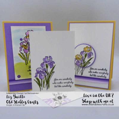 Inspiring Iris #Simplestamping Saturday