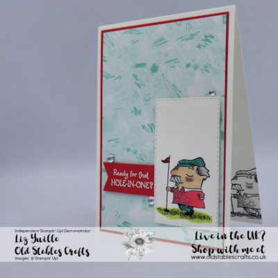 Stampers Showcase Blog Hop – On To Adventure Masculine Card