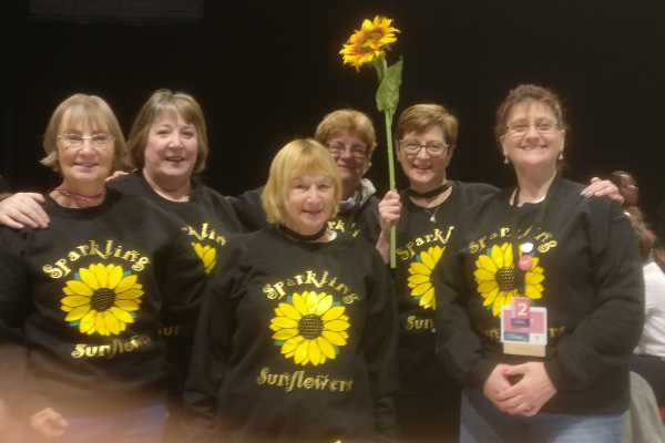 Sparkling Sunflowers At OnStage April 2019