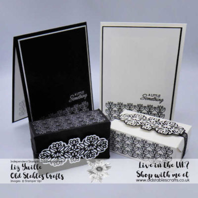Petals and Parcels monotone cards