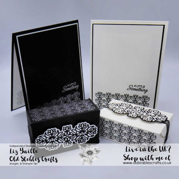Petals and Parcels monotone cards