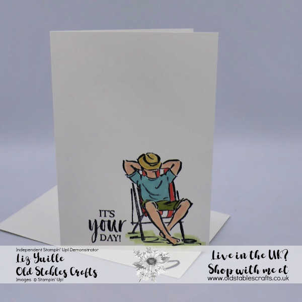 SSS A Good Man, masculine birthday card