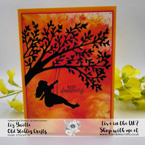 See a Silhouette Bundle girl on swing full card