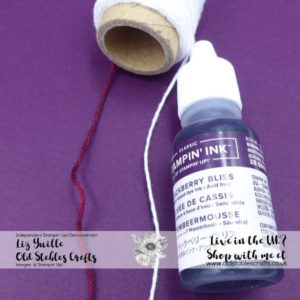 Top Tip Tuesday Any Coloured Twine Blackberry Bliss