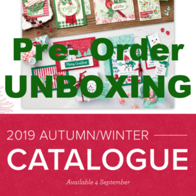 Autumn/Winter Pre-Order Unboxing – See what is in my Big Box of Goodies.