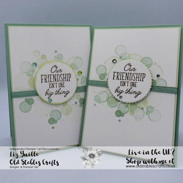 Beauty Abounds Simple Stampin Casual and Avid Cards