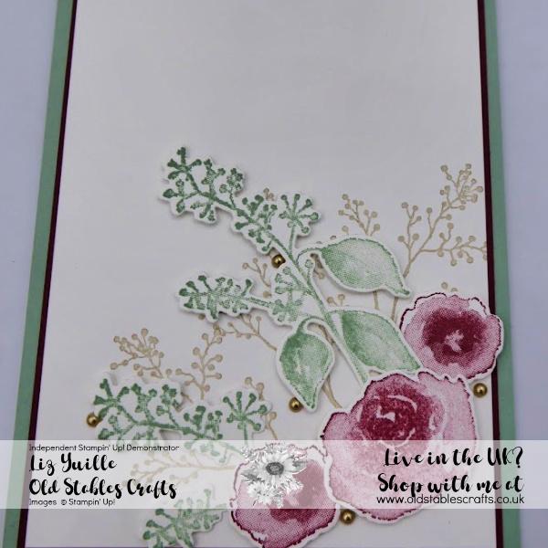 SSS First Frost Avid card, Cherry Cobbler, Mint Macaron, Sahara Sand
