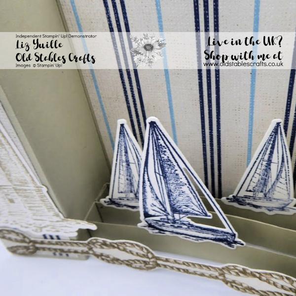 Sailing Home Bridge Card Close Up.