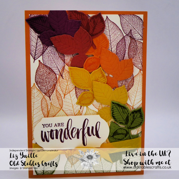 Rooted in Nature Autumn Fall Card