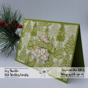 Most Wonderful Time Card Old Olive Christmas Trees