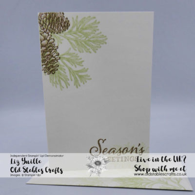 #SimpleStamping Saturday Meets Peaceful Boughs