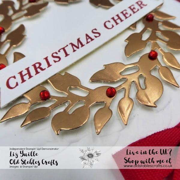 SSS Wreath Card avid close up