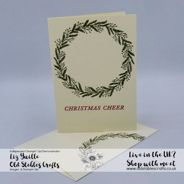 SSS Wreath Card Quick and Simple Card