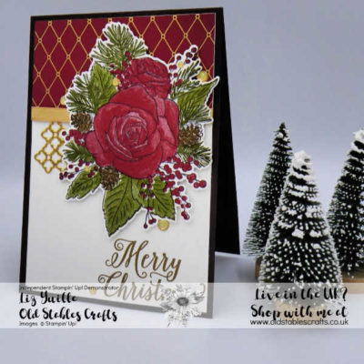 Top Tip Tuesday – Christmas Rose Stamp Set Made Easy