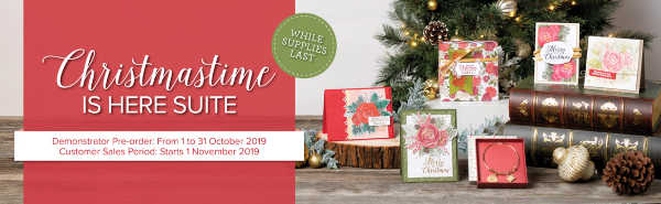 Christmastime is Here Suite available to Customers 1st November