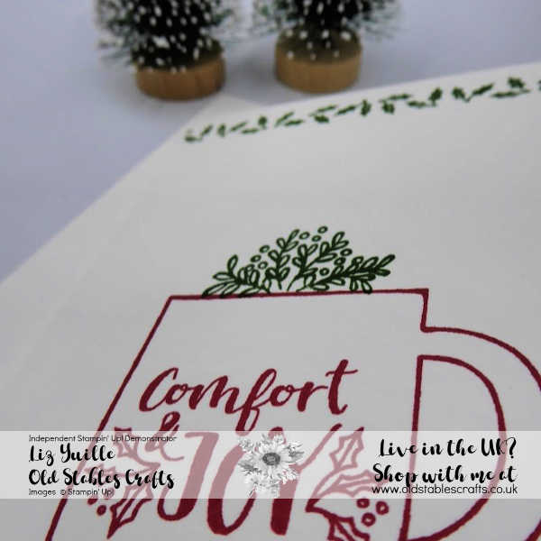 #Simplestamping Saturday Cup of Christmas - Simple