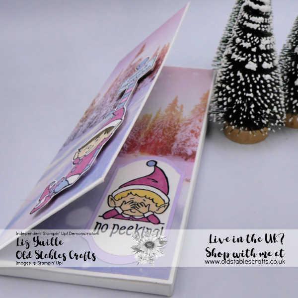 #Elfie Chocolate Box Card Craft Fair Gift