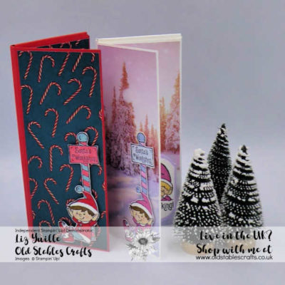 #Elfie Chocolate Box Card Craft Fair Gift