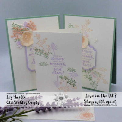 #Simplestamping Saturday Meets Ink Stamp Share Colour Challenge Blog Hop