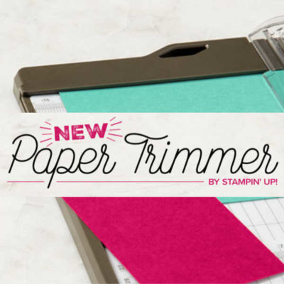 If you needed a reason to Join My Team, THIS is it! New Stampin Up Trimmer Review