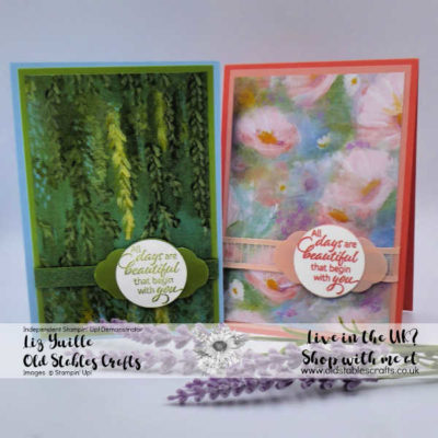 Perennial Essence Paper Has Two Sides AND We Have an ANNUAL Catalogue!!!