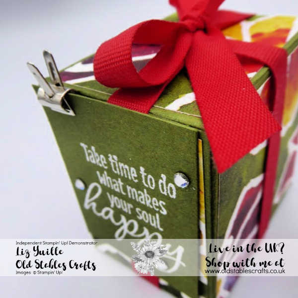 See a Silhouette Tea Light Box in Mossy Meadow