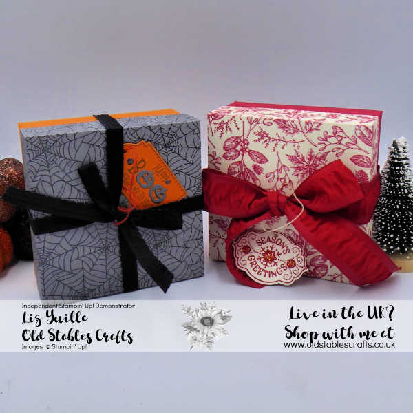 Quick and Easy Gift Boxes for Halloween or Christmas