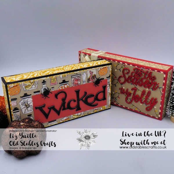 Wicked Halloween and Night Before Christmas Boxes