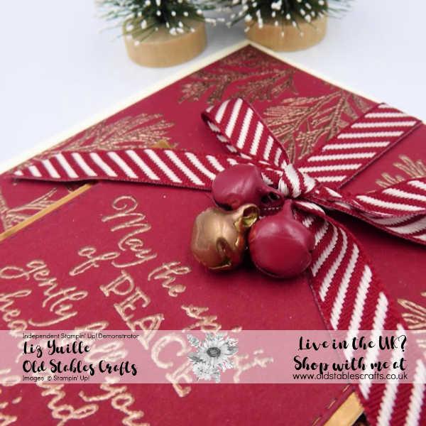 Cherry Cobbler Peaceful Boughs Opulent Cards