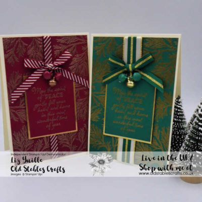 Kylie Bertucci Blog Hop – Peaceful Boughs Opulent Cards