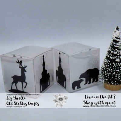 Tiny Treat Box Tealight Silhouette Box – Quick and Easy Craft Fair Make