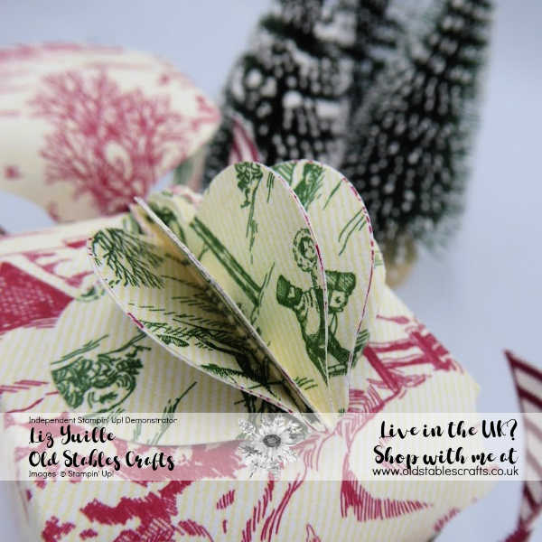 Toile Tidings Eco Friendly Cracker Red