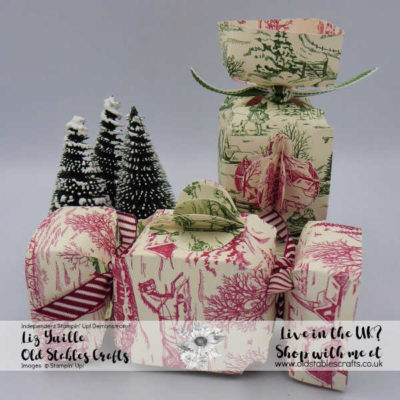 Toile Tidings Eco Friendly Cracker