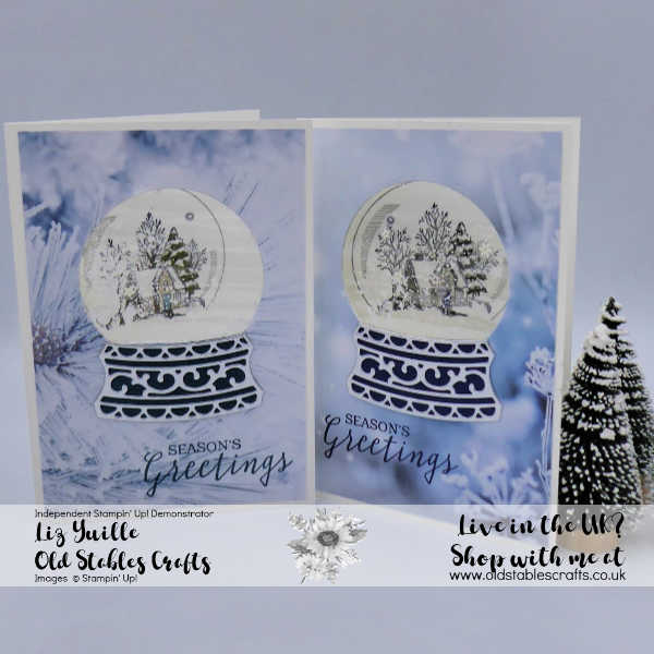 Top Tip Tuesday Laminated Shaker Card using Still Scenes Bundle