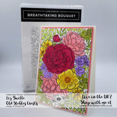 #SimpleStamping Saturday – Breathtaking Bouquet