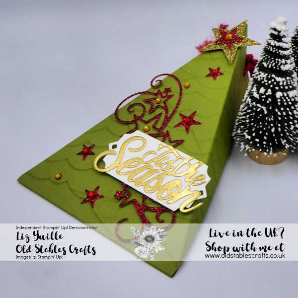 Christmas Tree Gift Box