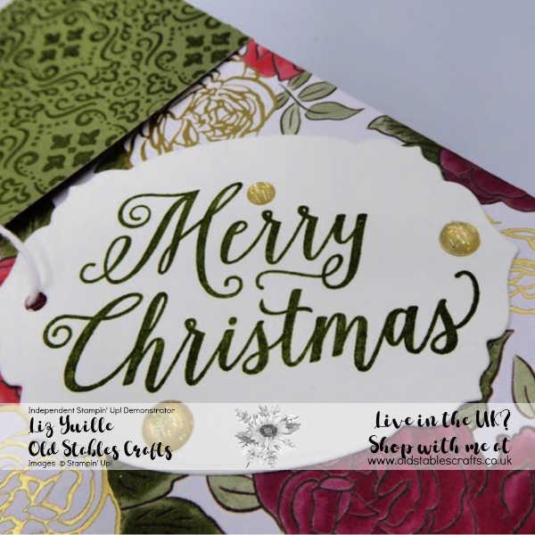 Huge Christmastime is Here Gift Bag