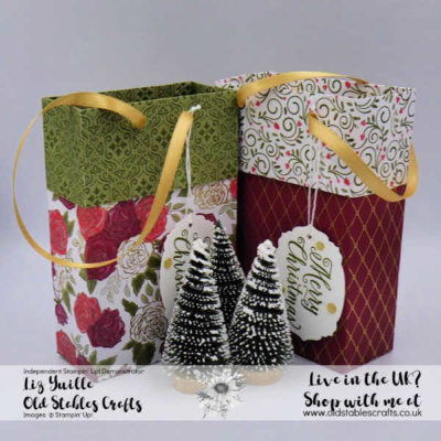 Huge Christmastime is Here Gift Bag