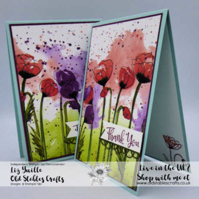 Peaceful Poppies Quick and Easy Cards